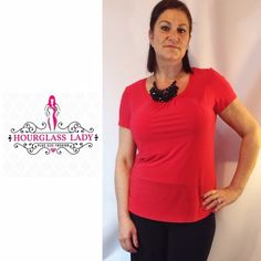 """LAST PLUS 2X❤️ Basic Red Color Coordinate Blouse PLUS SIZE Basic Color Coordinate Blouse Available in 4 colors, Teal, Tan, Red, Black Great for layering under Blazers or worn alone Perfect for office with easy transition to evening Easy fit, gathered neckline  Size 2X, blouse is somewhat fitted, size up if you prefer a loose fit Red Bust approx 21"""" across (unstretched), 26-28"""" long 95% Modal, 5% spandex, very stretchy New, no tags  Price firm unless bundled Create a bundle for 15% off…"""