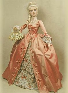 Pinned prior as Sidonie - this pic was reported as Marie Antoinette, Queen of France - picture located on the net as being made by Cheryl Crawford.
