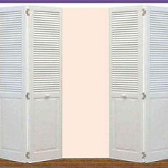 Vinyl Bi Fold Closet Doors | Http://35people.info | Pinterest | Closet Doors,  Custom Closets And Doors