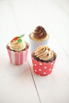 pięknie zdobione cupcake