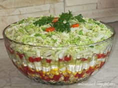 Sałatka gyros Anti Pasta Salads, Pasta Salad Recipes, Easy Salads, Polish Recipes, Easter Recipes, Dessert, Food Inspiration, Food Porn, Food And Drink