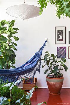 Decoração:Rede na sala, no quarto, no home office, na varanda. Deixe sua casa mais aconchegante! - Follow the Colours