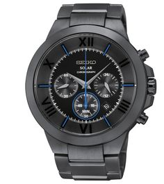 Seiko multi-function Mans watch