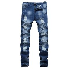 New Fashion Skinny Casual Men's jeans-Floessence