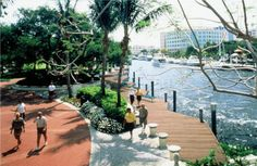 Riverwalk Park, Fort Lauderdale, Florida