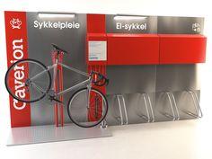Design og utvikling av sykkelpleiestasjoner og moduler for lading av el-sykkel. INNOFORM/Caverion.På lager nå! The Selection, Products, Eggs, Gadget