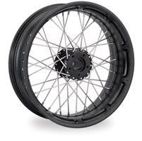 Performance Machine Spoked Wire Black Ops Rear Wheel, 18