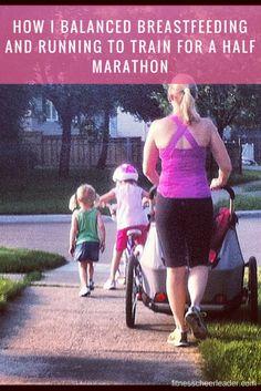How I Balanced Breastfeeding and Running to Train for a Half Marathon