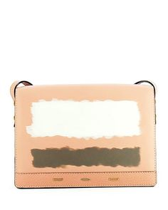 Pulce+XL+Leather+Crossbody+Bag,+Light+Pink+by+VBH+at+Neiman+Marcus.