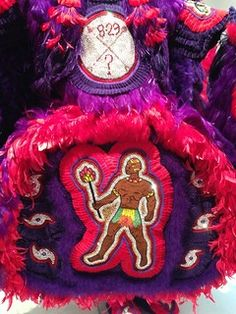 "1-11 Alonzo Wilson Treme | Close-up of ""Spy Boy: Katrina Mem… | Flickr Bedroom Art, Costume Design, 4th Of July Wreath, Spy, Art Museum, Symbols, Costumes, Art For Bedroom, Apparel Design"