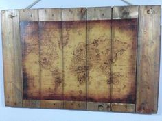 Old Map Wall Art Wall Decor & Painting