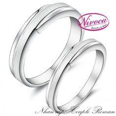 Nhẫn Cặp Couple Roman - Rings couple Roman