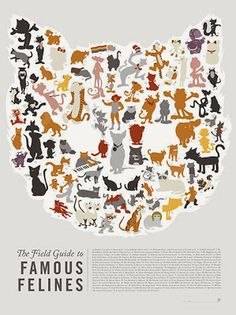 Poster para amantes de los gatos | La Guarida Geek