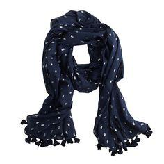Metallic dot scarf - scarves, hats & gloves - Women's accessories - J.Crew