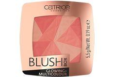CATRICE Blush Box Glowing + Multicolour 010 Dolce Vita Brave, Aqua, Catrice Makeup, Mascara Primer, Talc, Glam Doll, Black Lips, Blush Brush, Volume Mascara