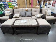 Furniture Patio Clearance Costco Wicker Online Paint