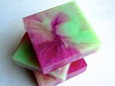 Flirtatious Fig with Honey Soap Bar (Organic) Sweet Fresh Figs, Lemon Zest, Square Glycerin Soap