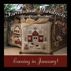 Image result for counted cross stitch farmhouse patterns