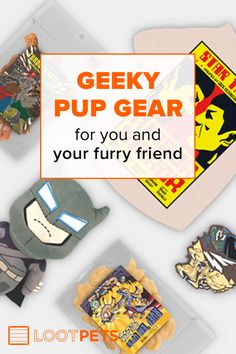 Make your pup go doggone wild in excitement with a monthly mystery crate packed full of fun toys, tasty treats, and adorable apparel for you and your furry friend! Learn more :D