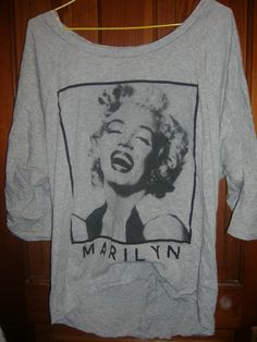 Marilyn Monroe sweater/shirt thing from Forever 21