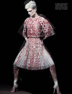 Saskia de Brauw by Craig McDean for Vogue Italia February 2014 12