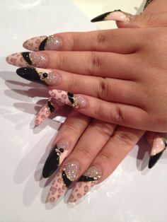 I've been searching for a pic of how I want my nails, and I think I finally found it.
