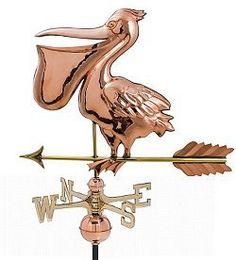 Weathervane - Polished - Pelican