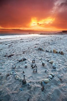 Sandy Stonehenge by Extra Medium, via Flickr