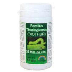 Bacillus Thuringiensis 50g sólo 6,20€ en COCOPOT huerto urbano