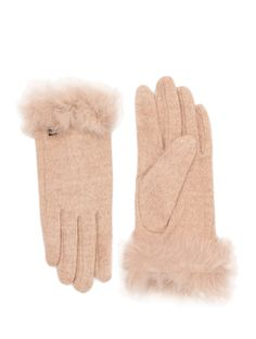Guantes lana y pelo - Wool and fur gloves