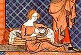 La nourrice Vincent de Beauvais,Miroir historial dit du roi Jean, France, XIVesiècleParis, Arsenal, manuscrit 05080, rés. fol. 371