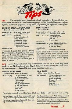 Your Share Meat Recipes & Tips