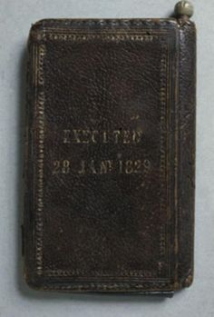 Amongst a collection of medical oddities housed at the Surgeons' Hall Museum in Edinburgh lies a tattered pocketbook [left], no longer than the length of a man's hand. It is dark brown—nearly black—with a pebbled texture and gold lettering that has begun to fade with age. To the untrained eye, it is altogether unremarkable in its appearance. However, upon closer inspection, the words 'EXECUTED 28 JAN 1829' and 'BURKE'S SKIN POCKET BOOK' come into focus, revealing the item's true origins.