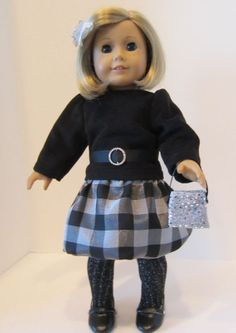 American Girl Doll Party Bubble skirt by SewSpecialByBarb on Etsy, $45.00