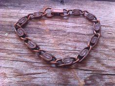 vintage copper bracelet 1920s bracelet copper by JohannaVintage, $43.00