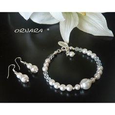 Perlenarmband Silberschmuck 925 - Ornara ® Design