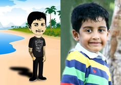 Caricature of this Boy