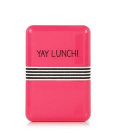 Pink Yay Lunch! Lunch Box