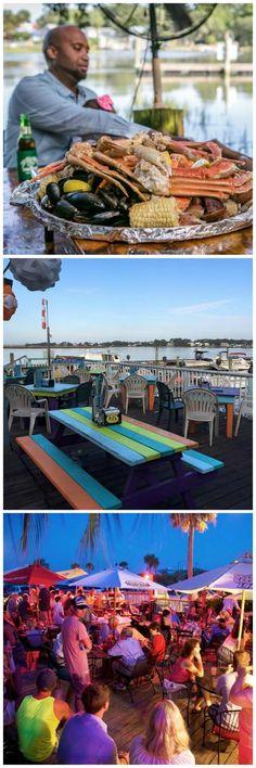 6 Fantastic Outdoor Dining Spots on Tybee Island