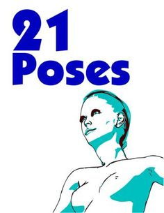 21 poses  21 poses for fashion drawing women figuer