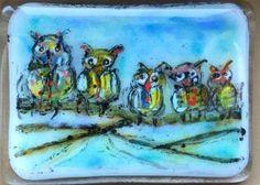 "Daily Paintworks - ""Family"" - Original Fine Art for Sale - © Kristen Dukat"