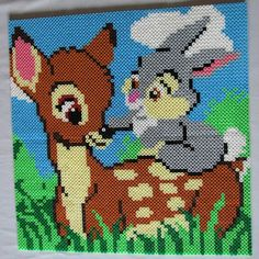 Bambi and Thumper - Disney hama beads