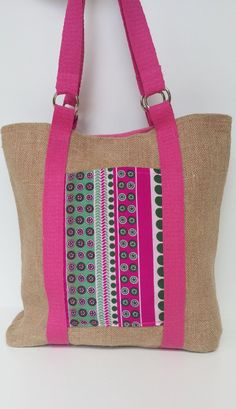 Small Sewing Projects, Sewing Hacks, Diy Tote Bag, Reusable Tote Bags, Diy Bag Designs, Eco Friendly Bags, Vintage Sewing Patterns, Handmade Bags, Diaper Bag