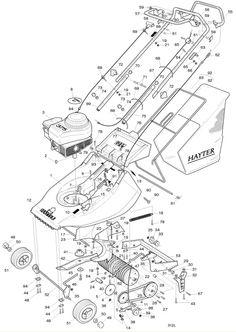 Hayter Harrier 41 - 312L001001 Spare Parts Machine diagrams Schematics Shoulders of shoreham www.shouldersofshoreham.co.uk