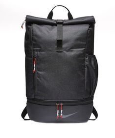 5492c5bea2 Nike Golf Modern Sports Backpack Black Red Soccer Gym 100% authentic  BA5743-010