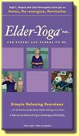 Elder-Yoga™ plus... Chair Yoga Video - on DVD
