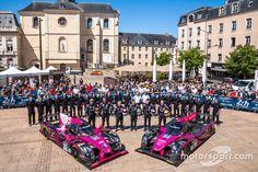 #34 OAK Racing Ligier JS P2: Chris Cumming, Kevin Estre, Laurens Vanthoor and #35 OAK Racing Ligier JS P2: Jacques Nicolet, Erik Maris, Jean-Marc Merlin