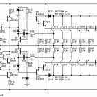 Here is the RMS power amplifier circuit called Legend-Stage Master based on power MOSFET, give a great output performance for indoor audio sound system Valve Amplifier, Class D Amplifier, Audio Amplifier, Dc Circuit, Circuit Design, Circuit Diagram, Simple Electronic Circuits, Power Supply Circuit, Speaker Plans