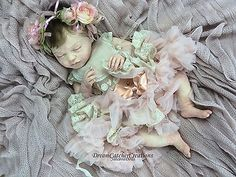 ♡ PROTOTYPE ♡ Beautiful FULL BODY SILICONE Lifelike Reborn Baby Girl Doll FB ♡