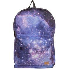 Spiral Bags OG Rucksack galaxy saturn (£25) ❤ liked on Polyvore